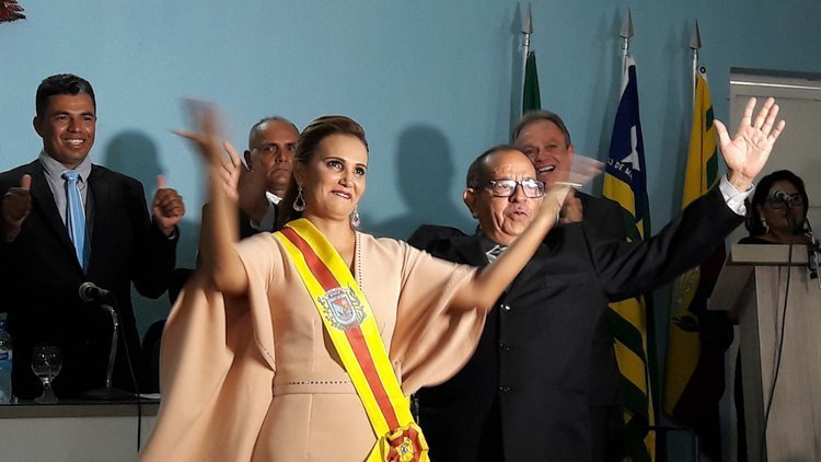 Prefeita Carmelita Castro