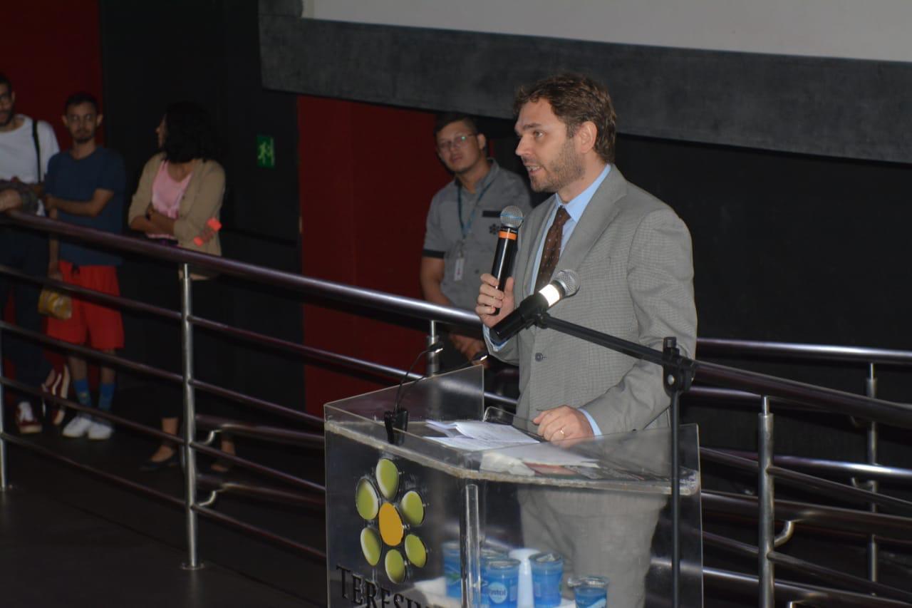Gabor de Zagon na III Mostra de Cinema 2020.
