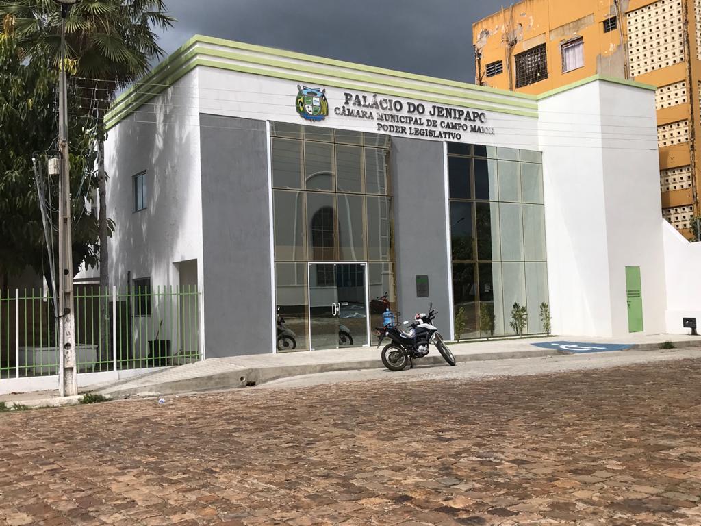 _Sede da Câmara Municipal de Campo Maior (Imagem: 180graus.com)