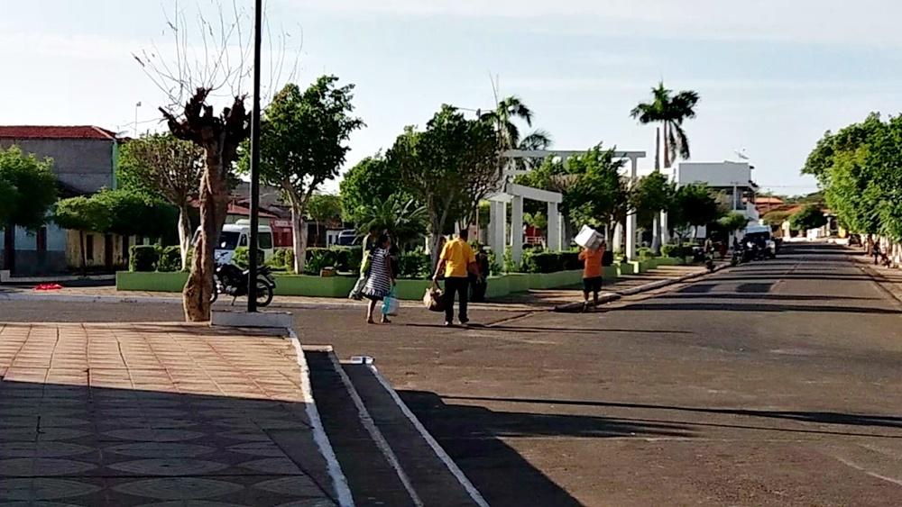 Praça Borges Marinho em Bocaina