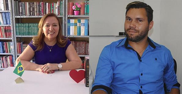 _Secretária de Educação de Campo Maior, Conceição Lima e o Ordenador de Despesas, Anderson Luis Vale