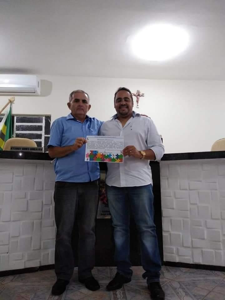 Presidente da Câmara De Assis e vice-presidente Kyldary Gonçalves