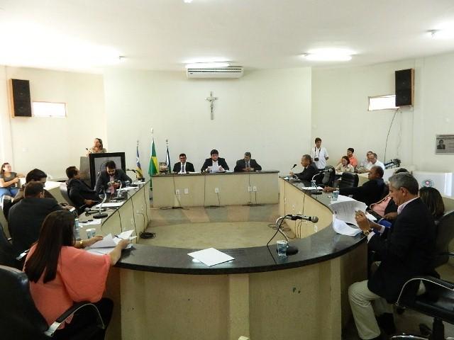 Vereadores na Câmara Municipal de Picos