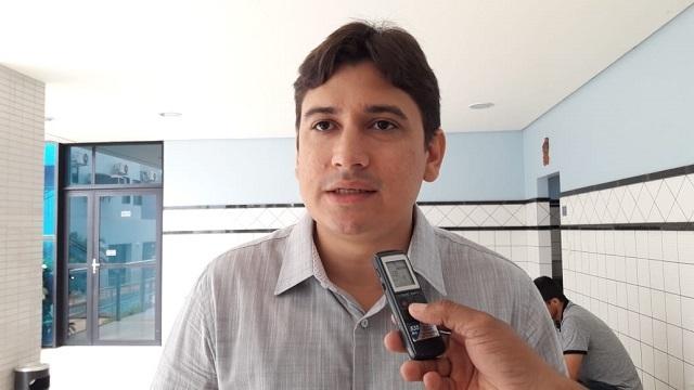 O advogado e pré-candidato Glauber Silva