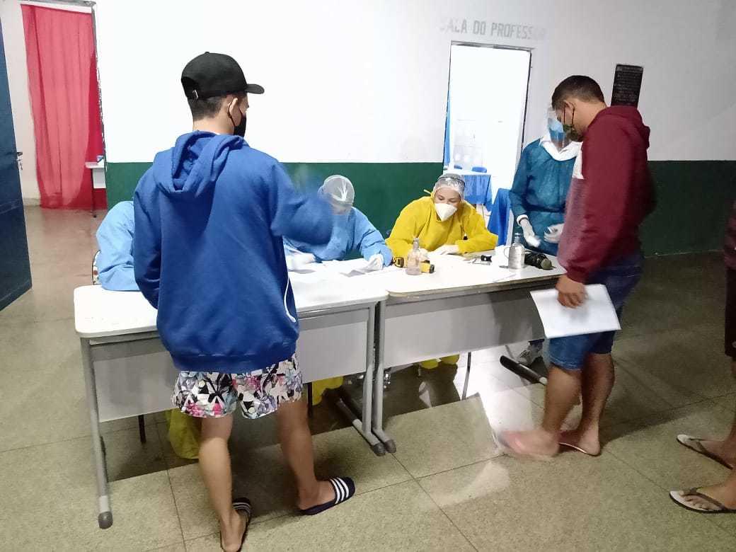 Ação realiza pela Saúde do município