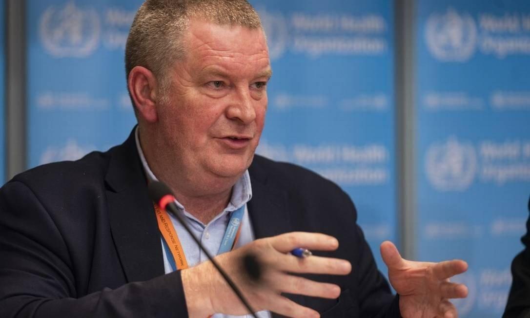 Michael Ryan é diretor do programa de emergências da Organização Mundial de Saúde