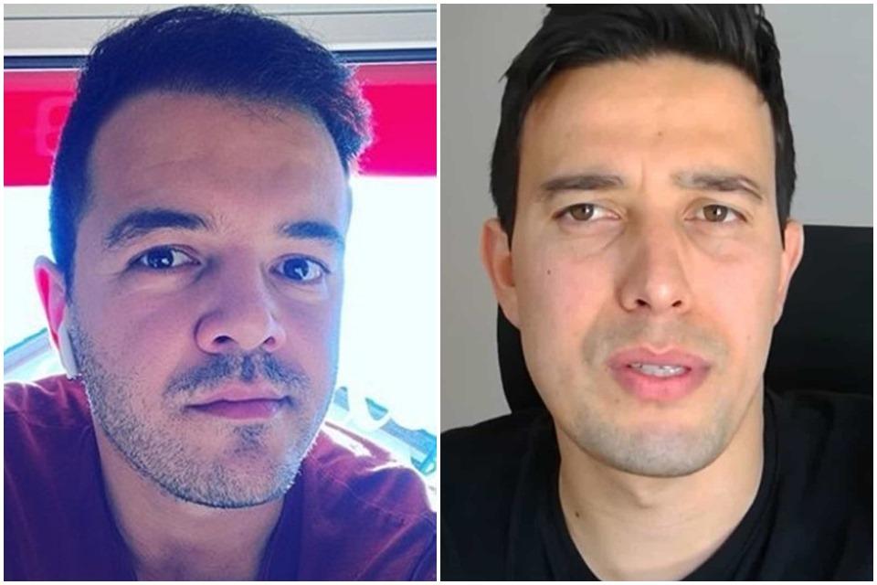 Guilherme Stangherlin e Thiago Salvático