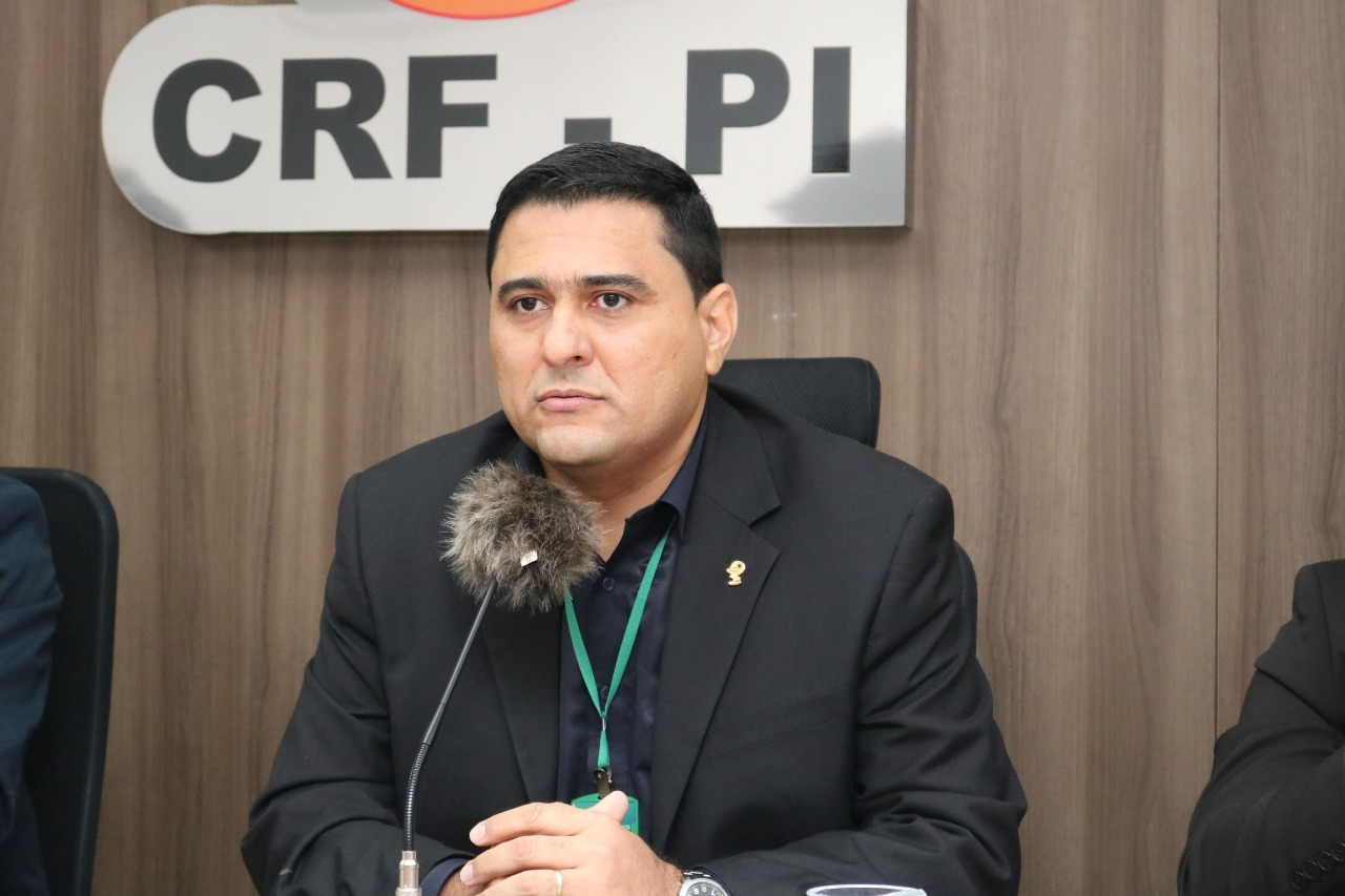 Luiz Júnior, presidente do CRF-PI