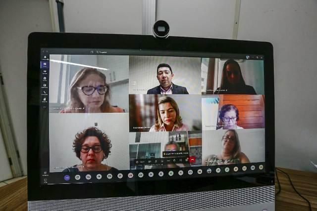 Seduc e MP se reúnem para discutir retorno das aulas presenciais e Educar Piauí 2