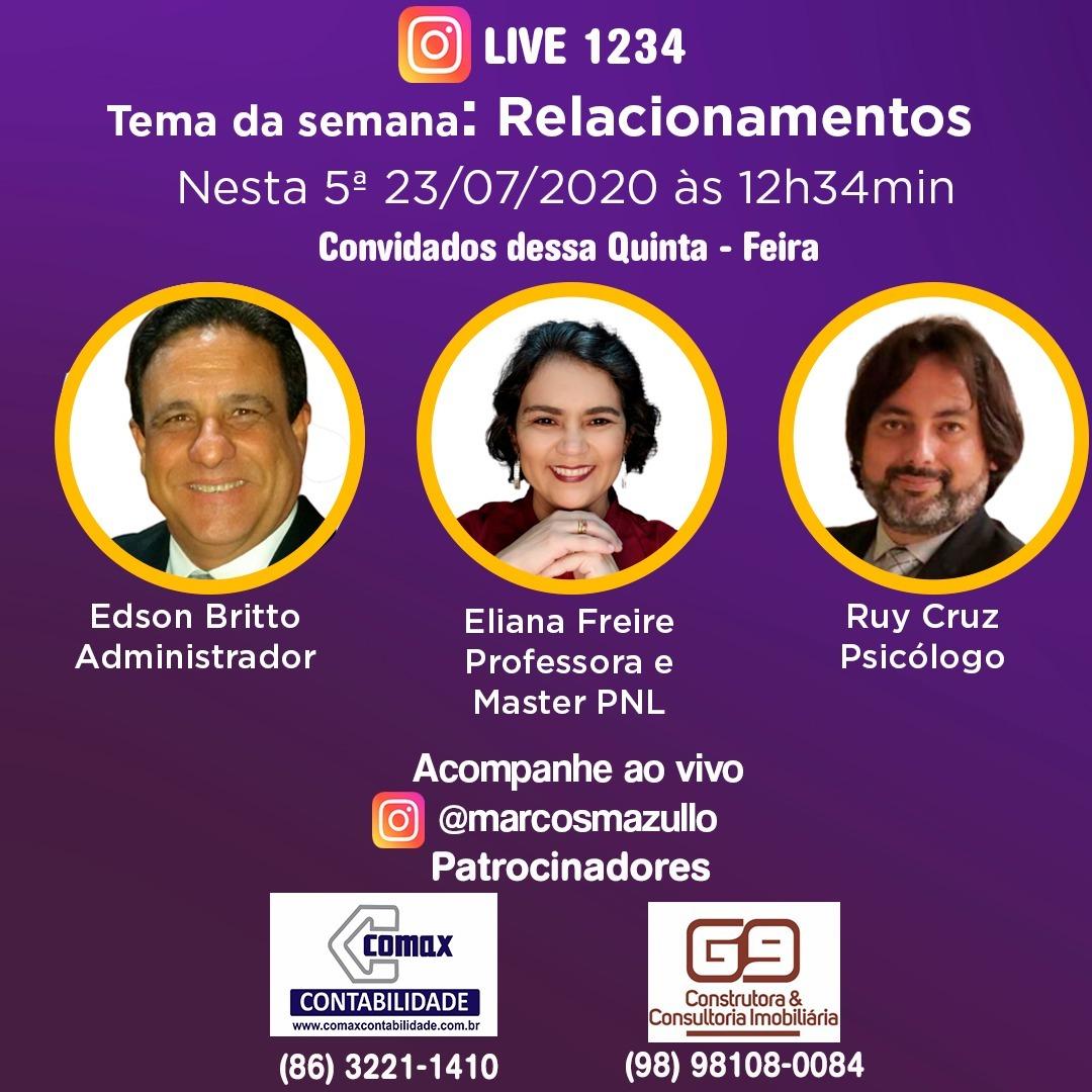 #live1234 - Relacionamentos no trabalho