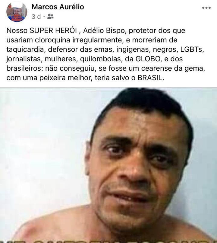 Secretário de cidade do PI diz que Adélio deveria ter usado uma 'peixeira' melhor contra Bolsonaro 2