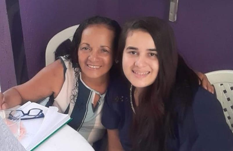 Jade e a mãe