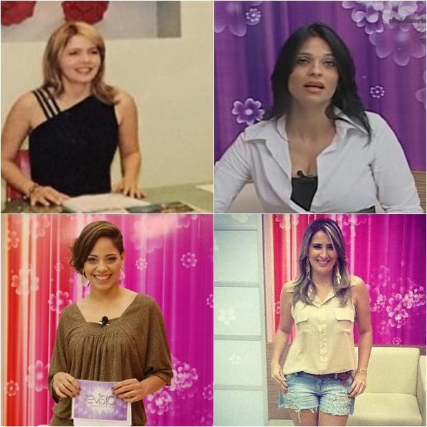 Socorro Sampaio, Vanusa Coelho, Raquel Dias e Karla Berger