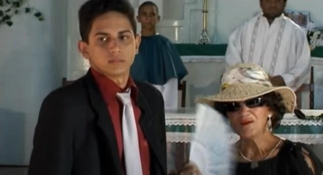 Wellington Alencar como Jerod no filme 'Ai Que Vida'