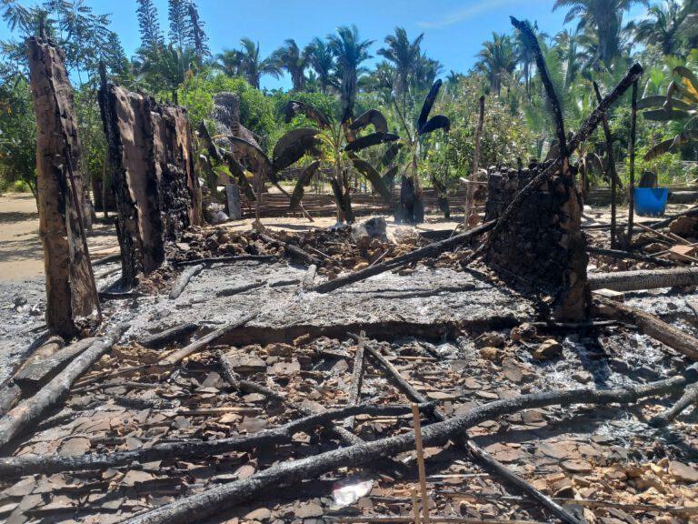 Incêndio destrói residência e família perde tudo em cidade do Piauí 3