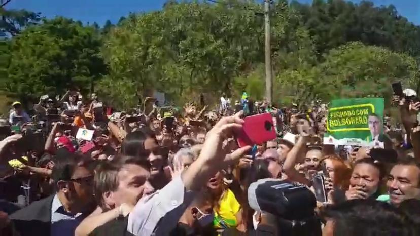 Jair Bolsonaro em Ipatinga/MG