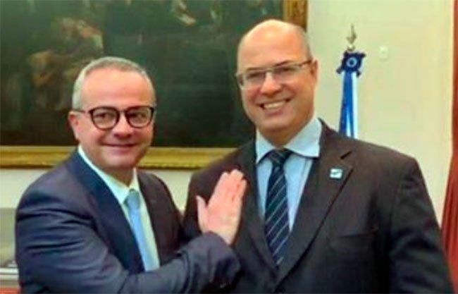 Valter Alencar o governador afastado do Rio de Janeiro, Wilson Witzel. O político que concorreu ao governo do Piauí em 2018 diz estar