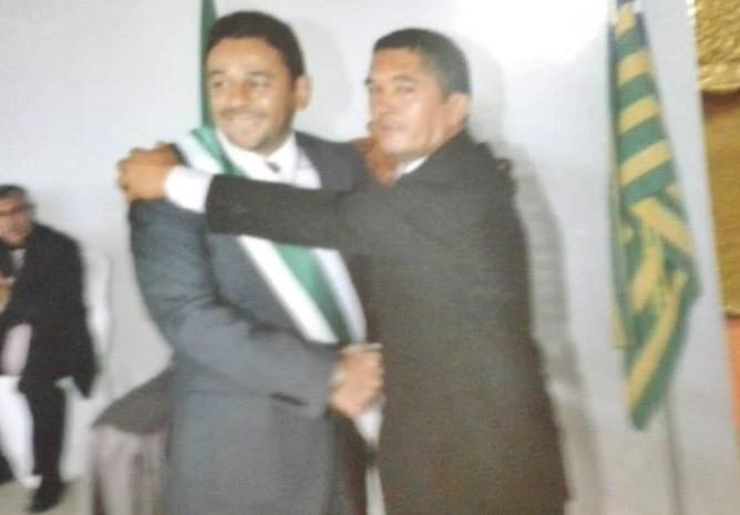 Ex-prefeito e o presidente da câmara