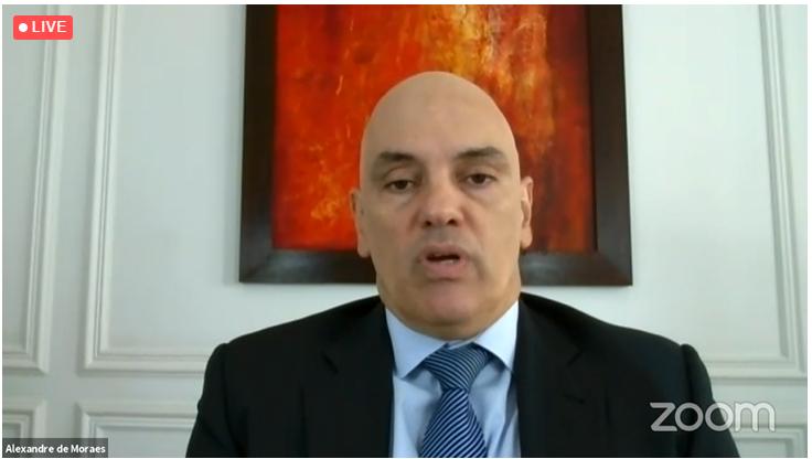 _Ministro do STF, Alexandre de Moraes (Imagem: Reprodução)