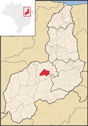 Localização do Município de Itaueira (Imagem: https://pt.wikipedia.org/wiki/Itaueira#/media/Ficheiro:Piaui_Municip_Itaueira.svg)