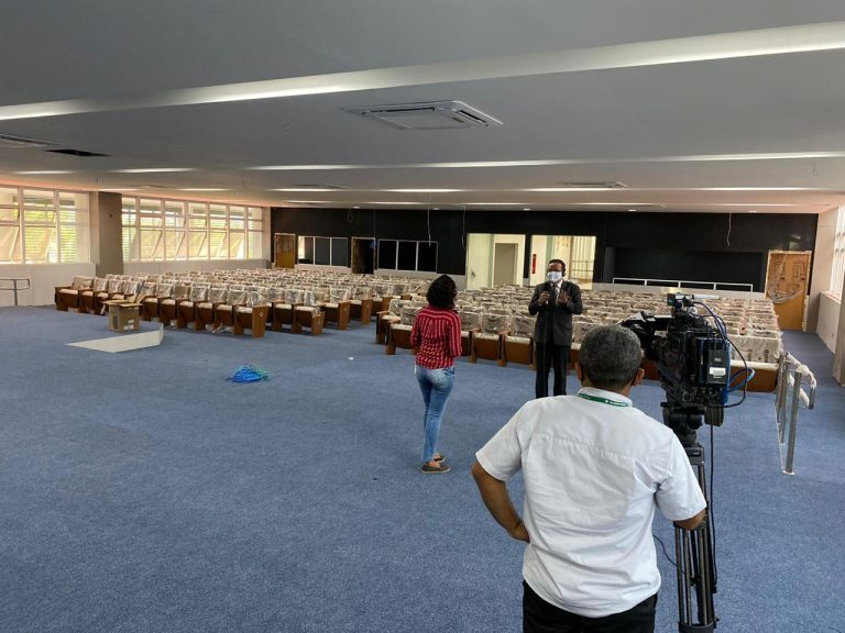 Instalações futuras do Auditório do Pleno do TJ-PI
