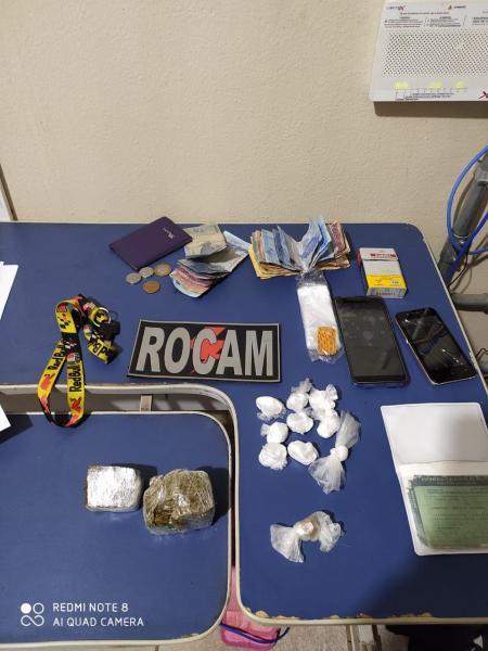 Dupla é presa por tráfico de drogas / Foto: