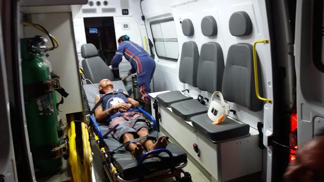Deficiente auditivo é espancado por dois jovens após parar para descansar em rua no Piauí 3