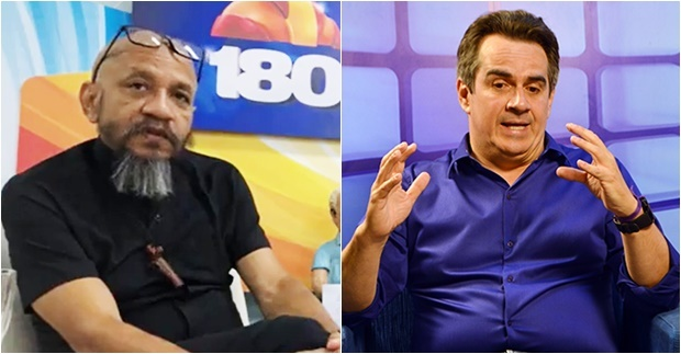 Jornalista Eugênio e Ciro Nogueira