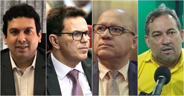 Dr Marcos Vinicius, Zé Santana, Franzé e Palmer