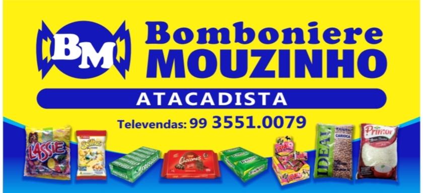 APOIO: BOMBONIERE MOUZINHO ATACADISTA