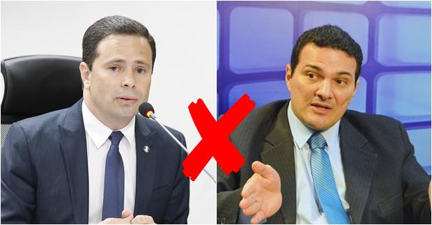 Juiz Leonardo Brasileiro, presidente da Amapi, e Celso Barros Coelho Neto, presidente da OAB-PI