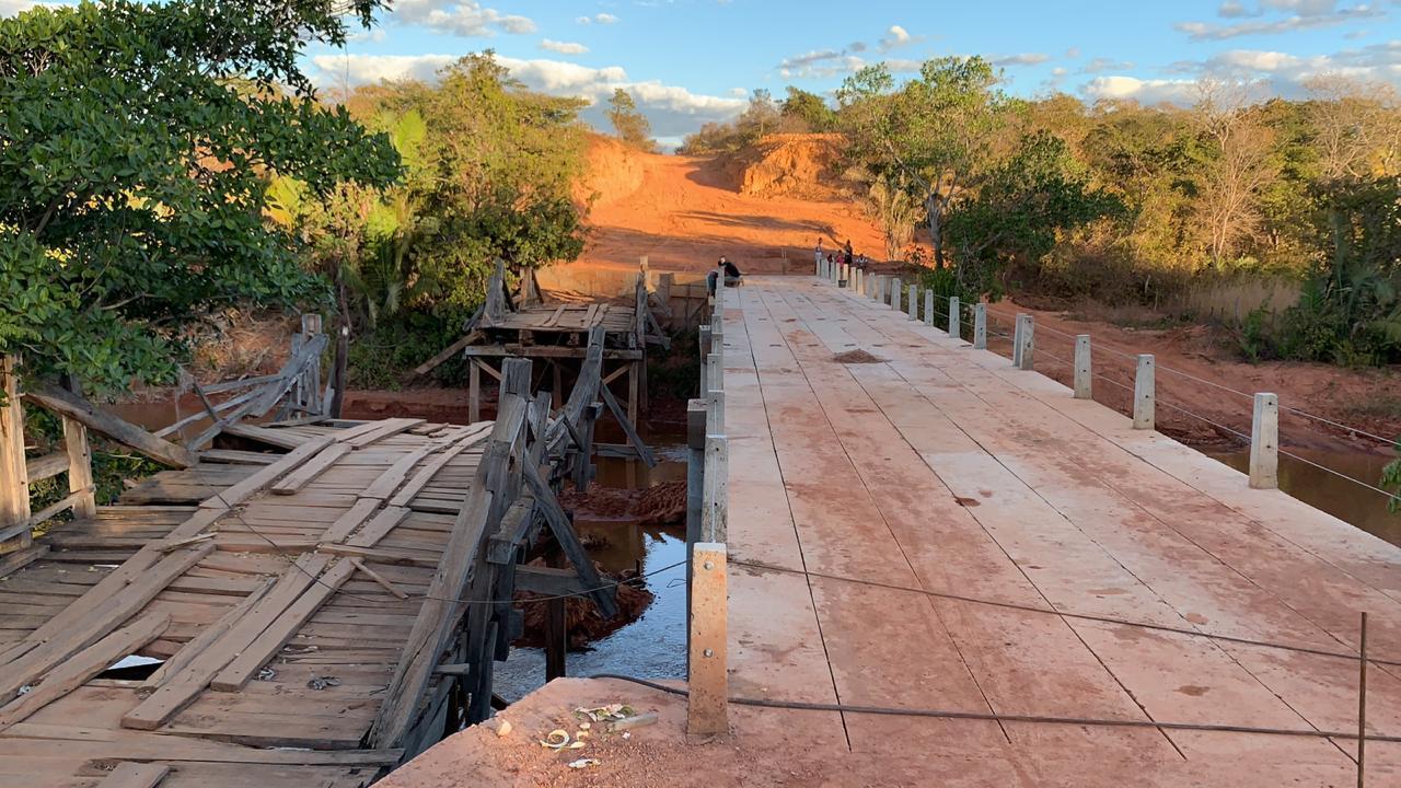 Ponte sobre Rio Gurguéia