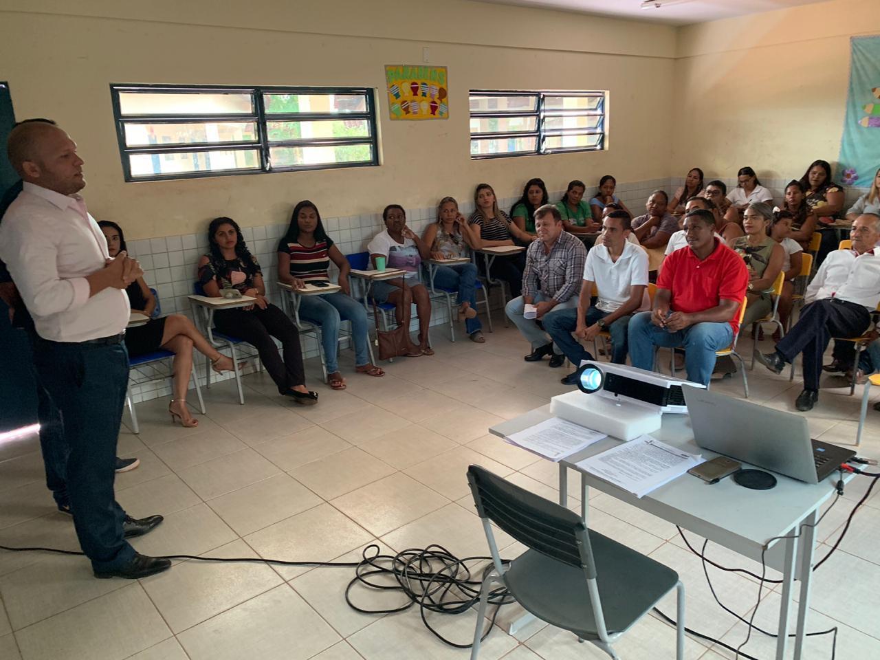 Durante audiência pública sobre o parque ambiental
