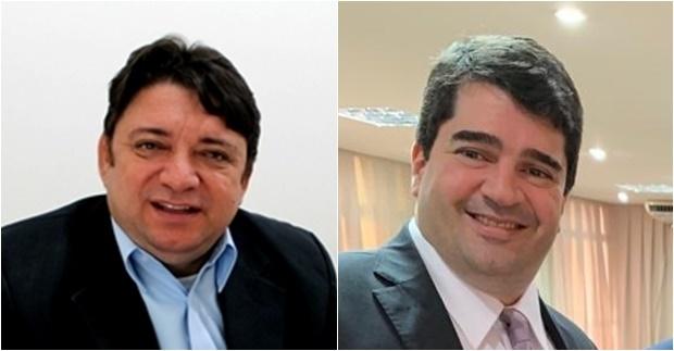 Thesco Silva e Cláudio Tajra