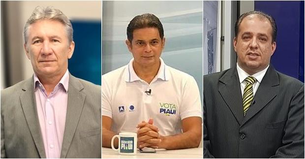 João Neto, Wesslley Sales e Douglas Cordeiro