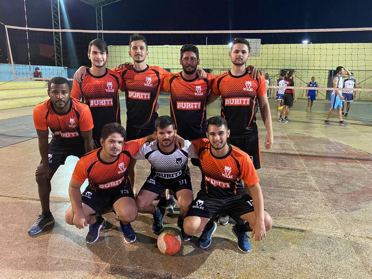 Equipe de vôlei de Buriti Grande (Dom Expedito Lopes-PI)
