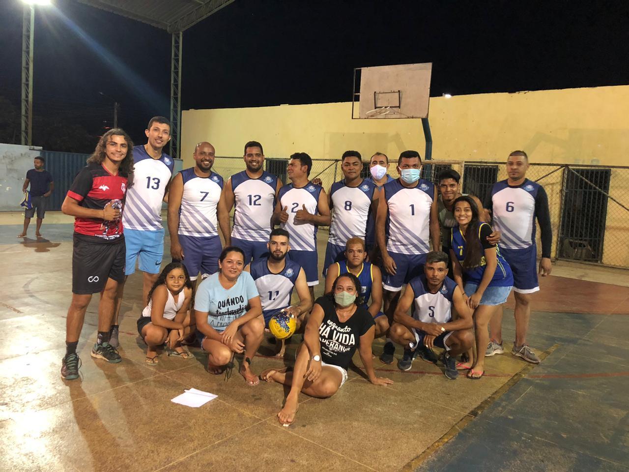 Equipe de vôlei de Santa Cruz do Piauí-PI