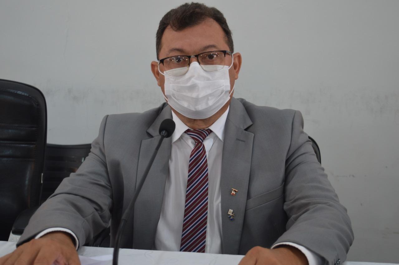 Chaguinha  presidente da câmara municipal de Picos
