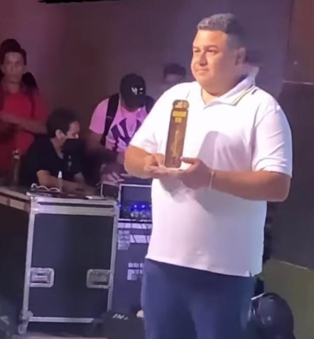 Mateus Caseirão ganhou troféu de Melhor Influenciador do Ano