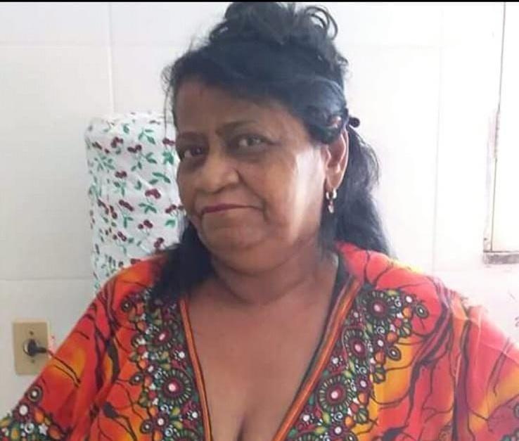 Antônia Francisca da Conceição de 64 anos