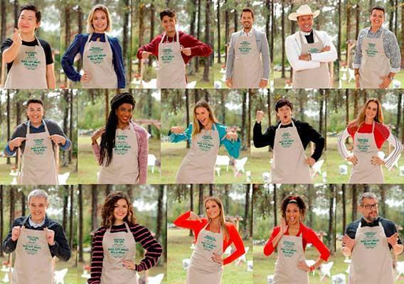Participantes do Bake Off Brasil - Celebridades