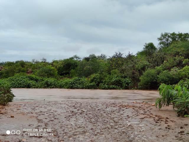 Rio Piauí, transbordou