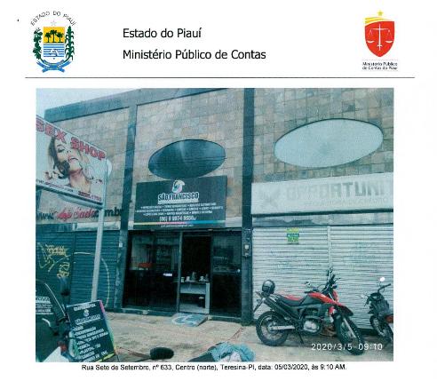 _Gráfica São Francisco localizada ao centro (Imagem: reprodução de autos do TCE)