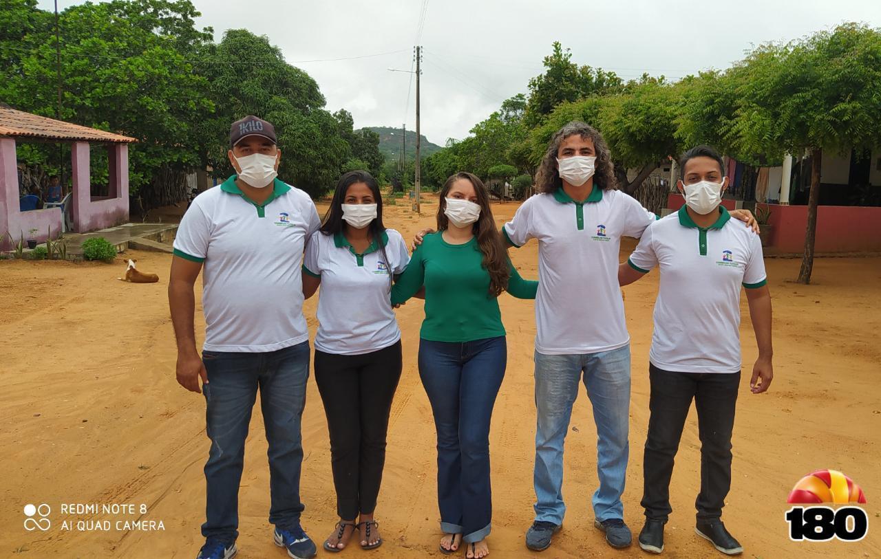 Membros do Conselho Tutelar de Santa Cruz do Piauí-PI