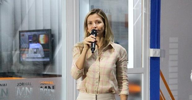Lívia Guimarães, diretora do Grupo Meio Norte de Comunicação