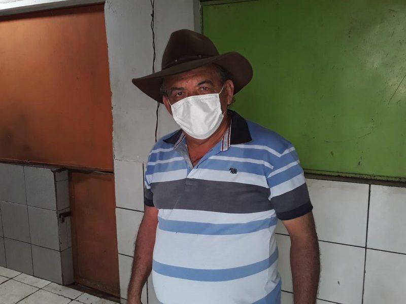 Cooordenador Antônio José de Sousa, conhecido popularmente por Bigode Branco.