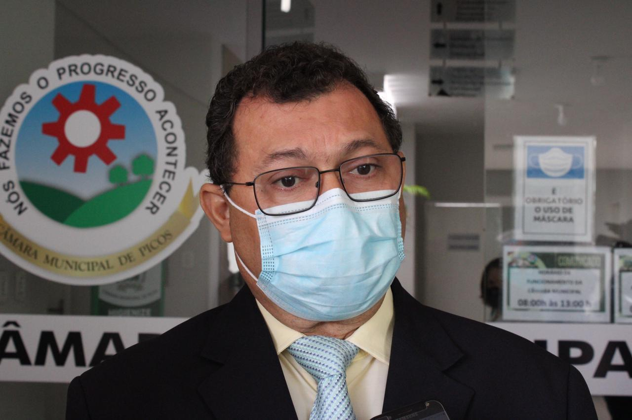Presidente da Câmara Francisco das Chagas Sousa (Chaguinha - PTB)