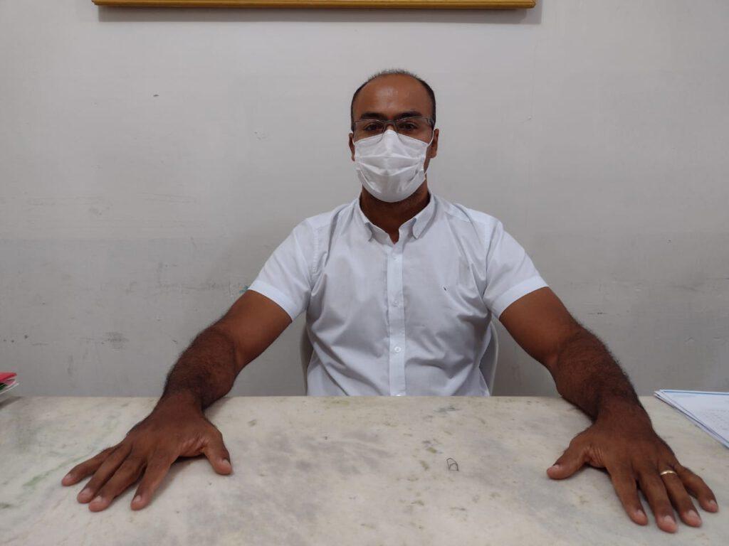 Secretário de Cultura de Picos, Marcelo Nordeste