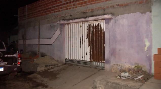 Casa onde o corpo foi encontrado