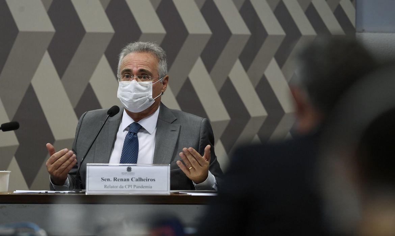 _Senador Renan Calheiros (Foto: Edilson Rodrigues/Agência Senado)